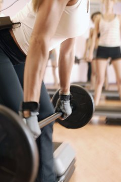 The stiff-leg deadlift is an efficient total-body exercise.