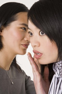 Gossip often results from poor communication in the workplace.