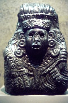 Quetzalcoatl was sometimes depicted as a priest-king.