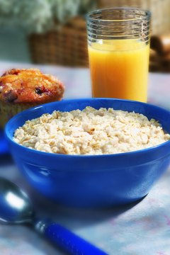 Eating oatmeal is one of the best ways to get more soluble fiber in your diet.