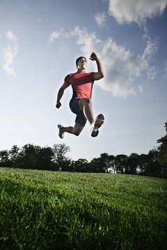 Plyometric training gives athletes explosive power and strength in any sport.