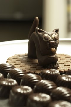 Cats and chocolate do not go together.