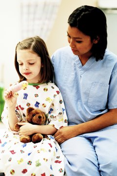 Pediatric cancer patients often need emotional support from their nurses.