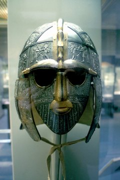 The Saxons were fierce warriors seeking new lands in Britain.