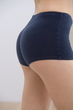 With exercise you can have that often-desired perky, small tush.