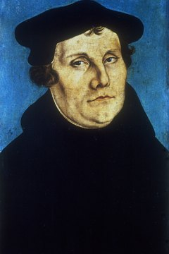 Martin Luther broke the mold in more ways than one...he got married.