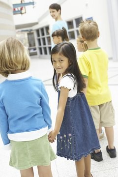 Group listening activites help kids develop their interpersonal skills.