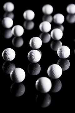 Modern golf ball production may take up to 30 days.