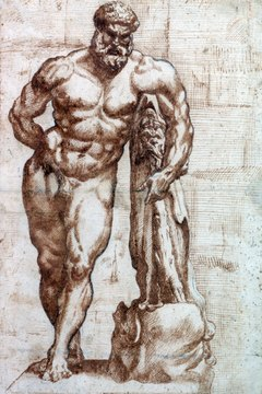 Demigod Heracles represents many of the elements of the classical Greek hero.