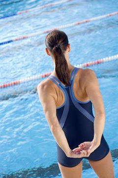 Your rhomboid muscles are used in pulling your shoulder blades together.