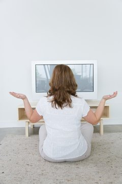 Some people choose to flip on the TV for their religious experiences.