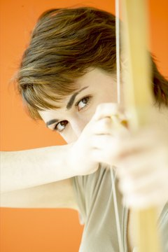 Sports such as archery can help you tone your arms.
