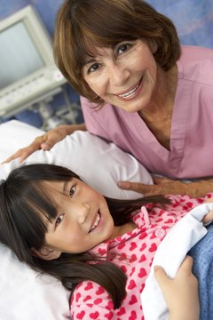 A love for children is a must for pediatric CNAs.