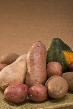Starchy vegetables are healthy sources of energy and nutrients.