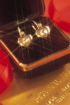 Remove the gunk so your diamond earrings shine.