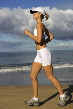 Running works all the body's major muscle groups.