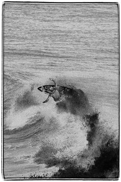 Movies and music helped spread the popularity of surfing in the 1960s.