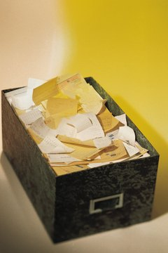 Take your drawer full of receipts to the tax audit.