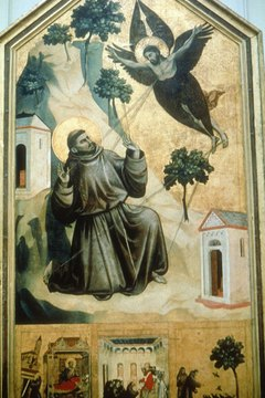 St. Francis of Assisi was known for his love of animals.