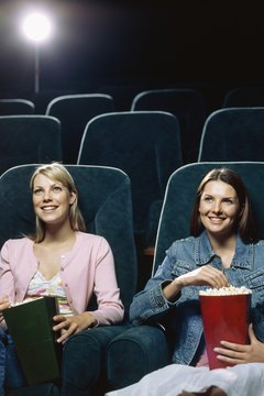 Avoid the crowds and catch a late night movie together.