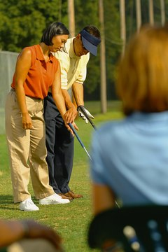 Teaching golf requires patience.