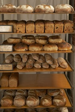 Gluten-free bread is widely available.