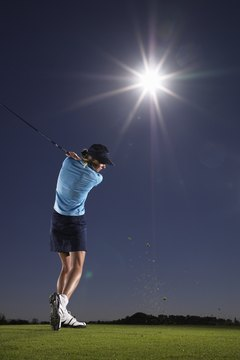 Top professional female golfers can earn millions.