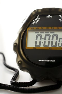 A digital stopwatch is the best tool to calculate a golf ball's flight time.