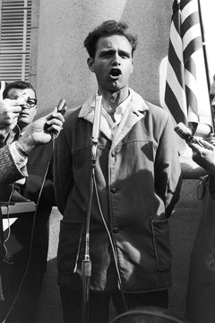 University of California, Berkeley student Mario Savio became the voice of a generation.