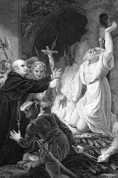 The Reformation led to acts of martyrdom and political backlashes.