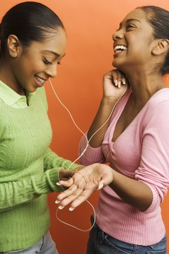 Talking about music can help you feel more at ease.