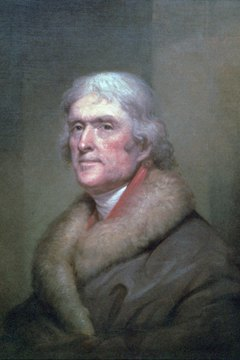 Thomas Jefferson believed that a constitution should adapt to changing circumstances.