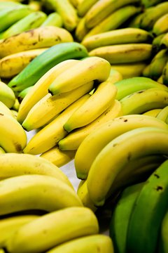 Fruit fly eggs and larvae often enter a home on banana skins.