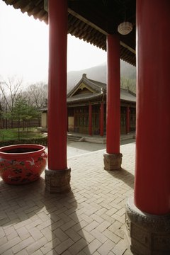 The Zhou period introduced new innovations in architecture.