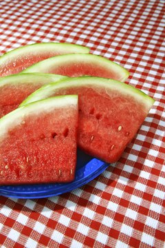 The nutritious white rind of the watermelon may offer medical benefits.