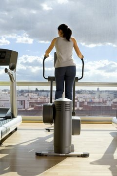The elliptical puts less stress on the hips than does the treadmill.