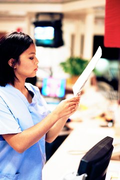 Nurse practioners work in doctors' offices, hospitals and medical centers.