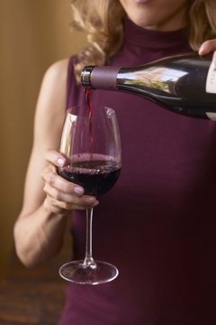 Red wine, in moderation, increases HDL levels.
