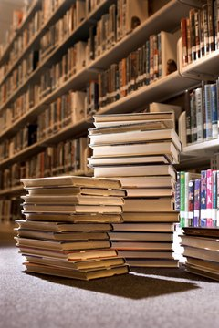 You may need to read through many books and websites to find topic information.