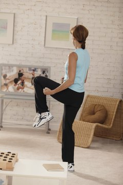 Squeezing calf exercises into your daily routine doesn't have to be difficult.