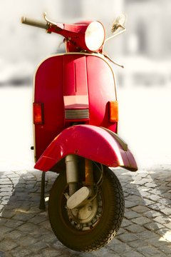 Mopeds offer some financial benefits over the traditional automobile.