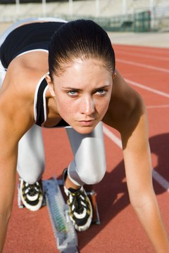 Sprinters need to develop fast-twitch and slow-twitch muscles.