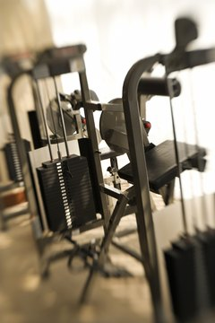 Using weight machines help you to isolate specific muscles and learn proper form.