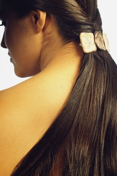 Improving the overall condition of the hair is the best way to create shine.