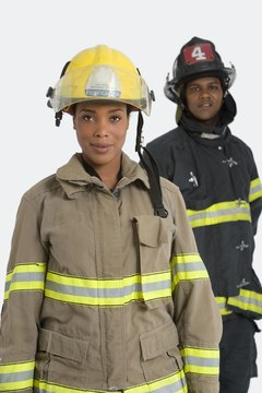 Women are still a significant minority in firefighting.