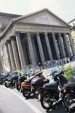 The Pantheon was one of the central religious sites of ancient Rome.