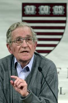 Noam Chomsky established and still teaches at MIT's respected linguistics graduate program.