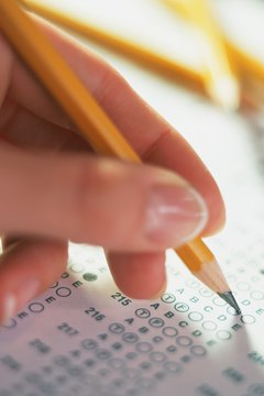 The SAT math section includes multiple-choice and grid-in questions.