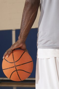 Palming a basketball can be a useful skill.