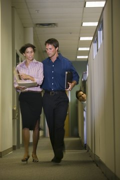 How to Handle a Co-Worker That Is Nosy About Everyone's Work